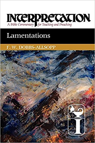 Lamentations commentary Interpretation
