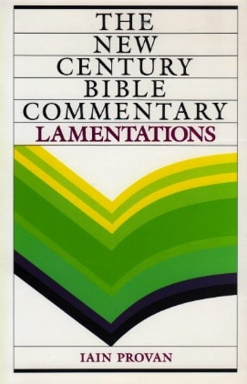 Lamentations commentary Provan