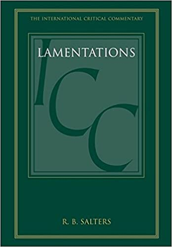 Lamentations commentary Salters
