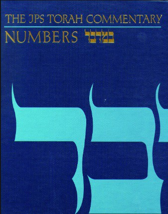 Numbers commentary Milgrom