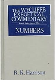 Numbers commentary Harrison
