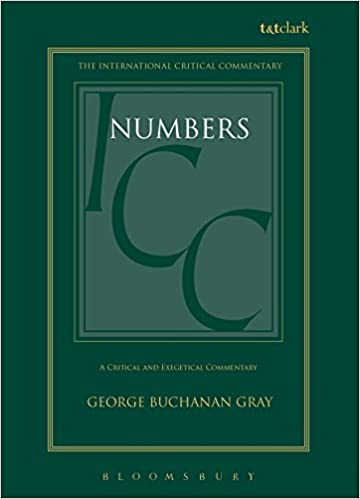 Numbers commentary Gray