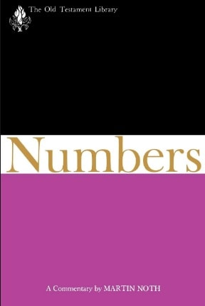 Numbers commentary Noth