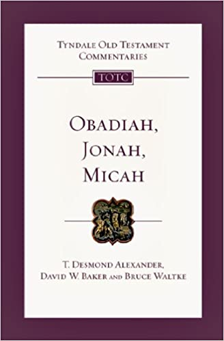Micah commentary Tyndale