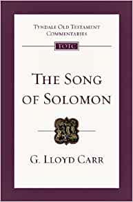 Song of Songs Solomon Carr