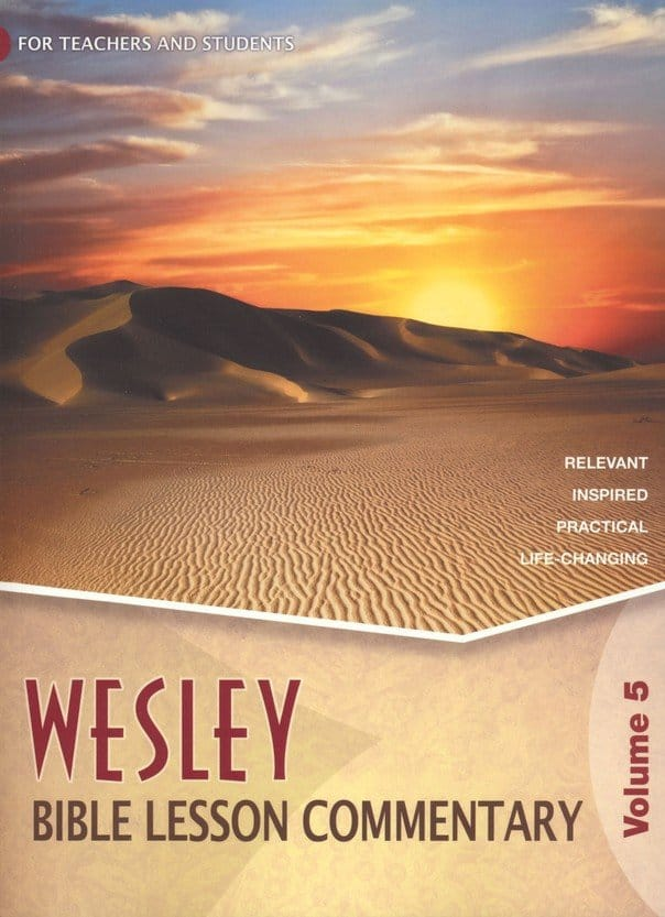 Wesley Bible Lesson commentary