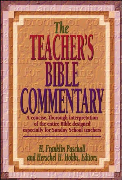 The Techer's Bible Commentary