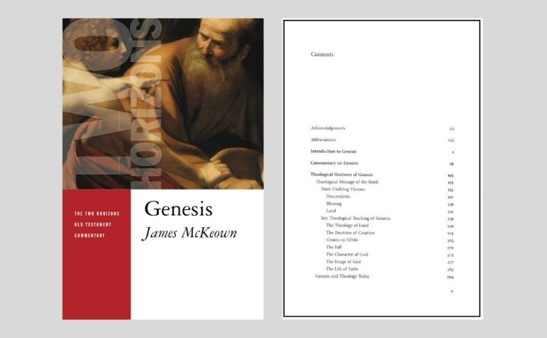 Genesis commentary by James McKeown
