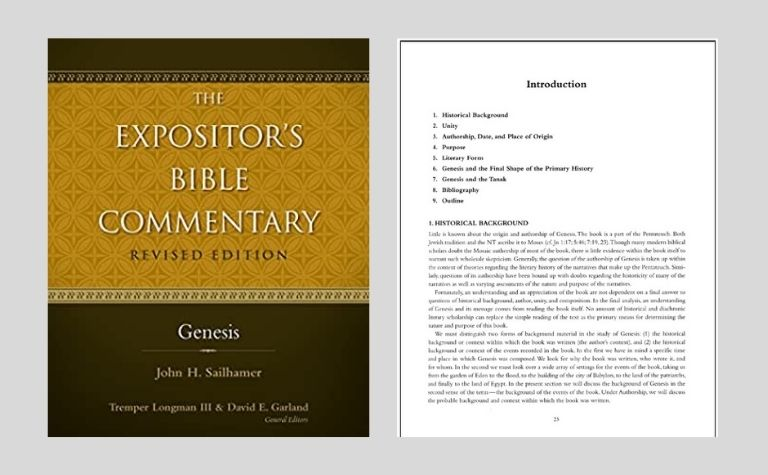 Genesis Bible commentary by John Sailhammer
